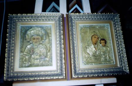 Отреставрированные иконы