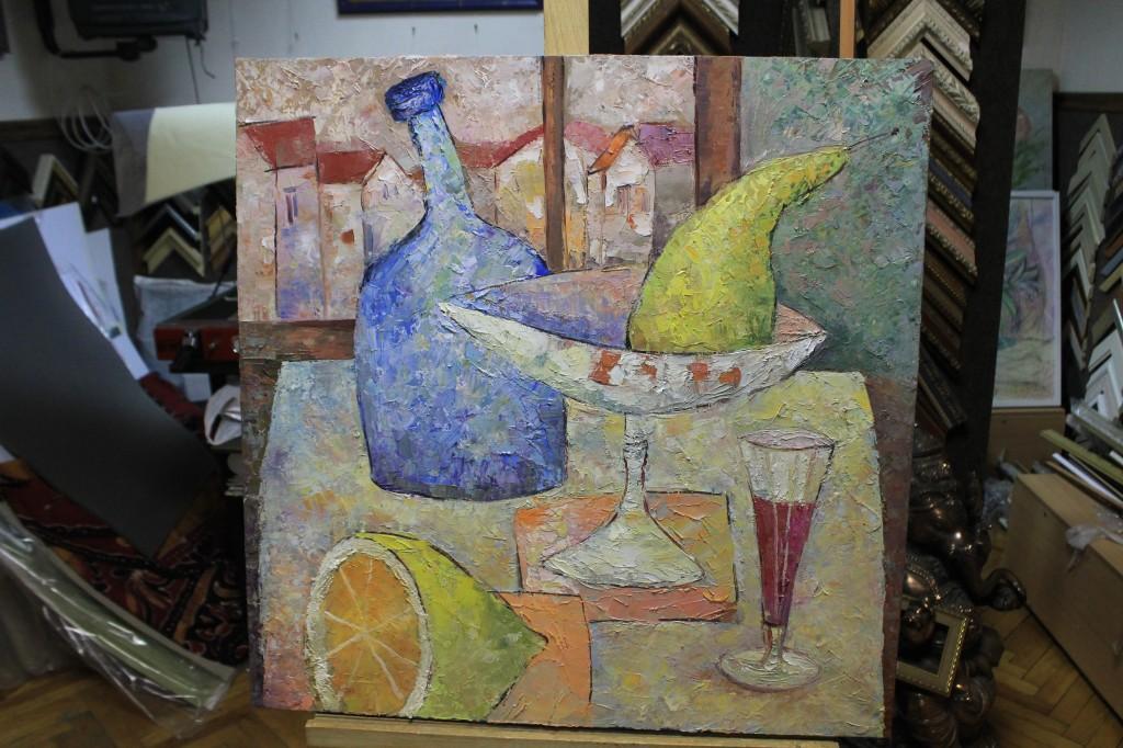 """Картина """"Завтрак"""", художник Мария Чернина"""