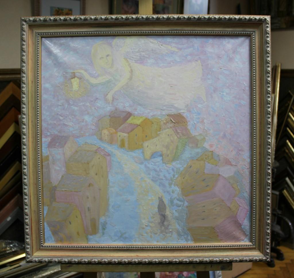 Sunrise, картина художника М. Черниной