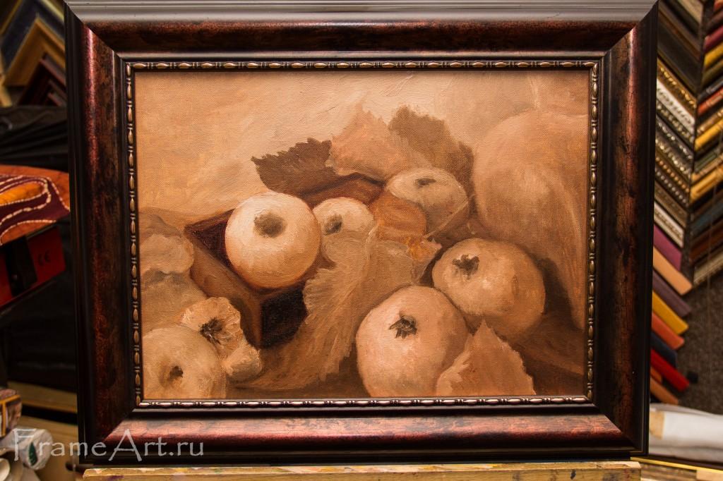 Урожай, художник М. Чернина