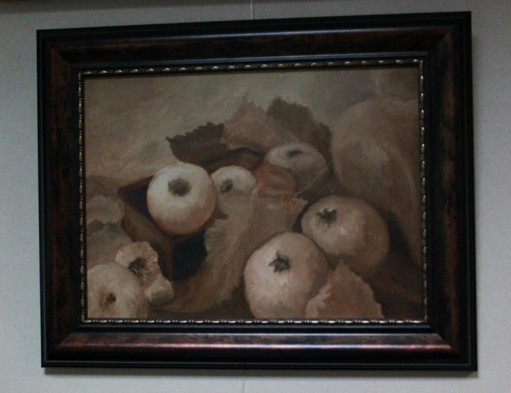 """Картина """"Яблоки"""", художник Мария Чернина"""