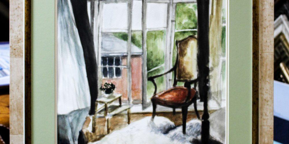 """""""Комната, где я жила. Providence"""", художник Diana Vasilyeva (Сан-Диего)"""
