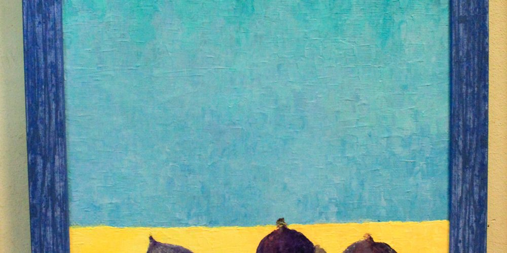 "Картина ""Инжир"", 60 см. на 40 см. холст, масло"